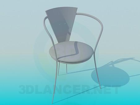 3d модель Стульчик в кафе – превью
