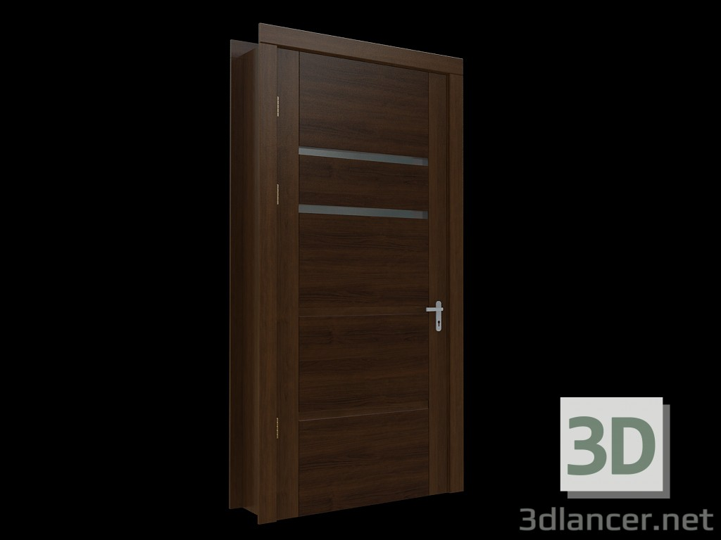 3d model Hi-tech door 3 - preview