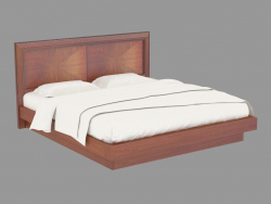 Ліжко двоспальне з ящиком LG108 (208х110х220)