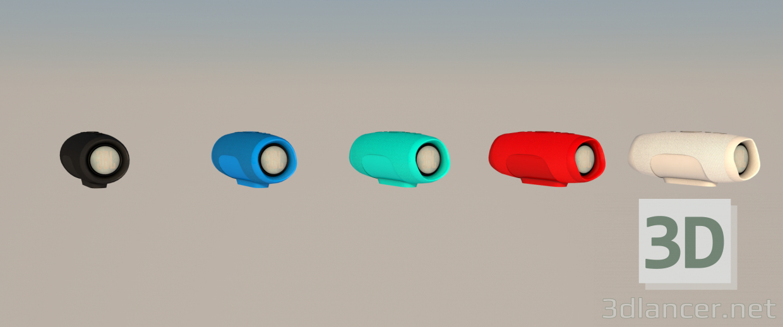 3d JBL CHARGE 3+ model buy - render