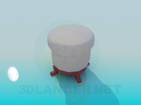 descarga gratuita de 3D modelado modelo Otomano