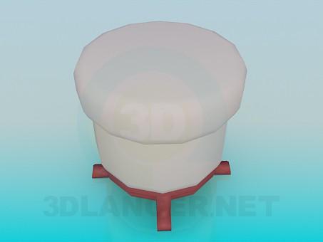 3d model Ottoman - preview