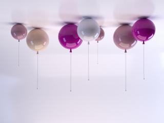Plafonnier en forme de ballon