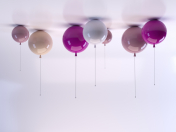 Ceiling lamp in the form of a balloon