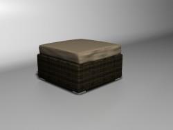 सहारा footrest