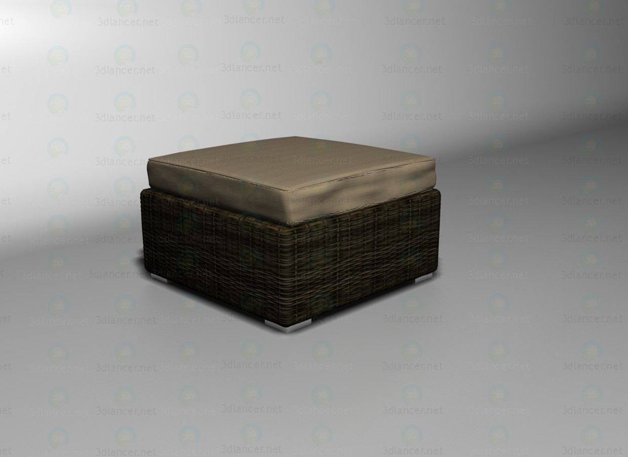 3d model Sahara footrest - preview