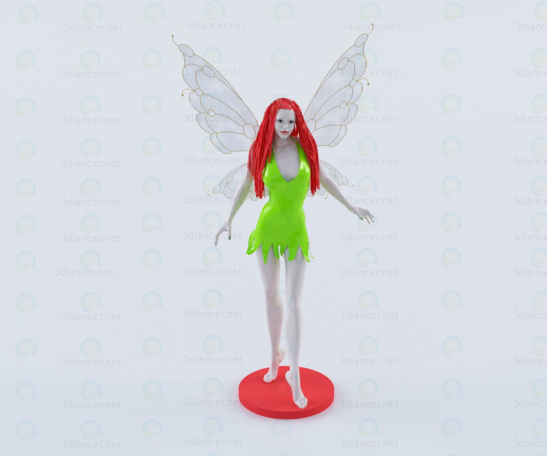 3d model Fairy - preview