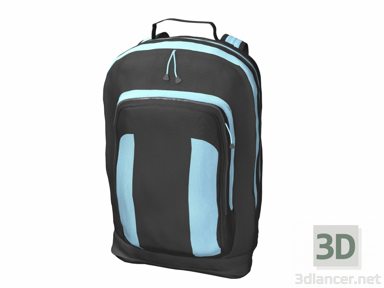 3d Backpack model buy - render