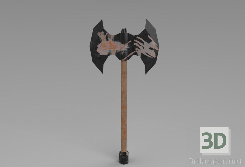 3d Axe model buy - render