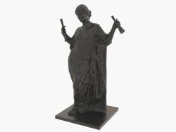 Scultura in bronzo Aphrodite au pilier (1)