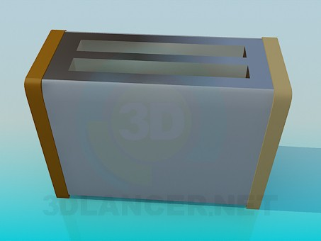 3d model Toaster - preview