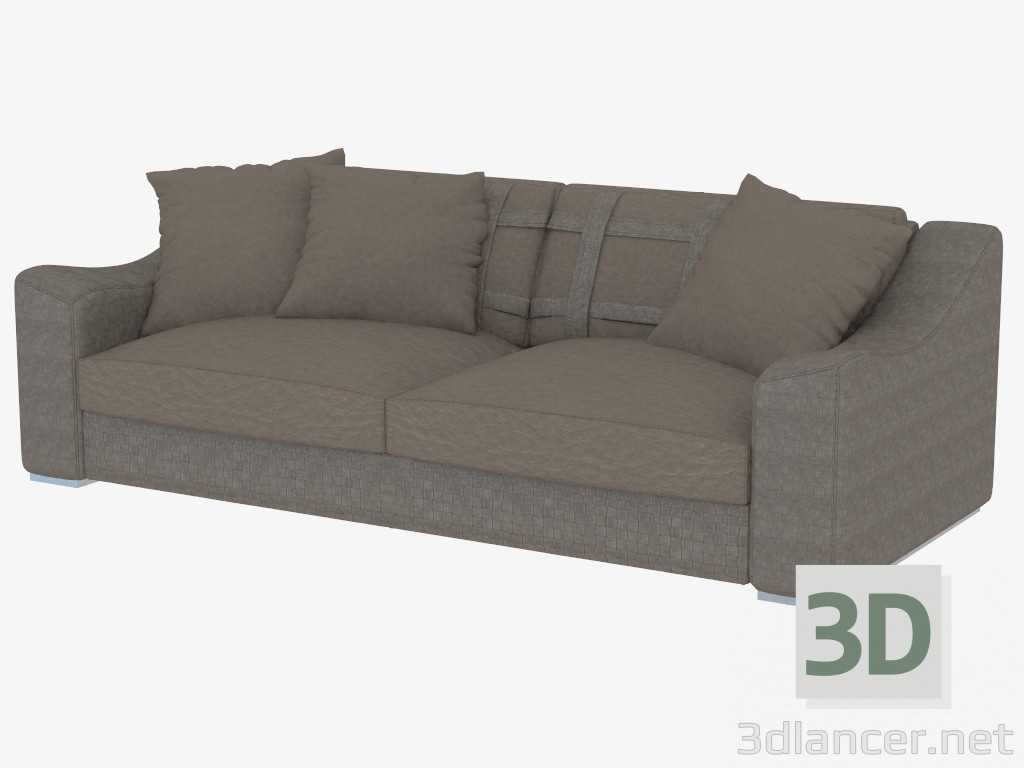 3d modell dreifach sofa golden 246 vom hersteller rugiano day id 19370. Black Bedroom Furniture Sets. Home Design Ideas