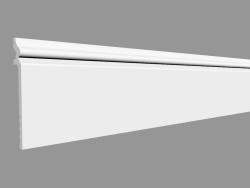 Plinth SX186 - CONTOUR (200 x 13.8 x 2 cm)