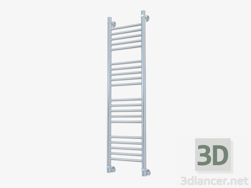 3d model Heated towel rail Bohema direct (1200x300) - preview