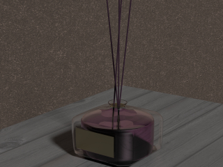 Aromatic diffuser for home