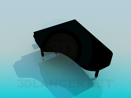 3d model Grand Piano - preview