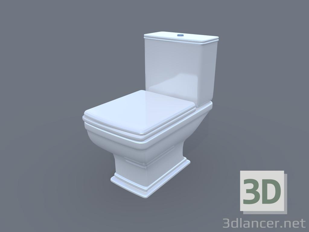 3d model WC, 3ds, - Kostenloser Download | 3dlancer.net