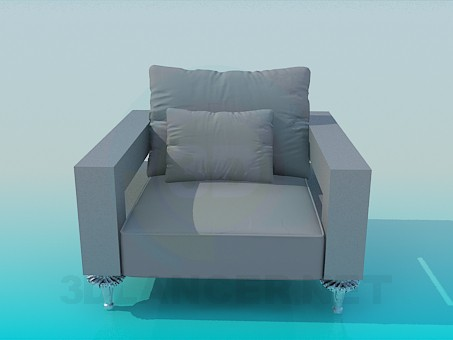 3d modeling Wide seat model free download