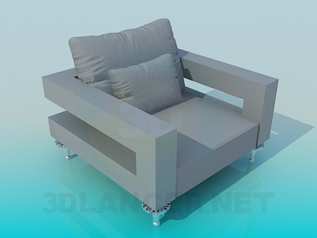 modelo 3D Ancho asiento - escuchar