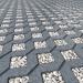 "3d Lawn concrete lattice ""MEBA"" model buy - render"