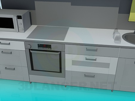 3d model Furniture for kitchen - preview
