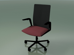 Chair 4823 (5 castors, with upholstery - fabric and mesh, V39)