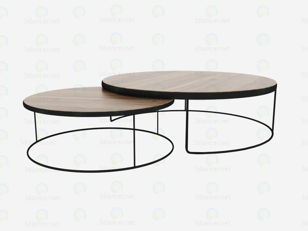 Tables Brooklin paid 3d model by N@talia preview