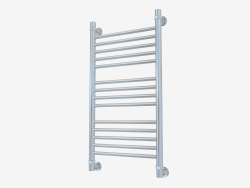Heated towel rail Bohemia straight line (800x400)