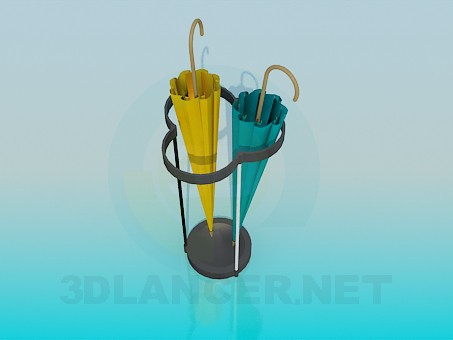 3d modeling Umbrella-stand model free download