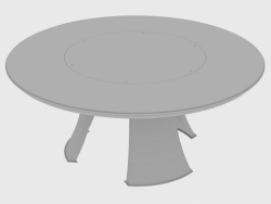 Dining table DAMIEN TABLE ROUND (d180XH75)