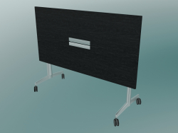 Table de style en T rectangulaire, pliée (1500x750, 740mm)