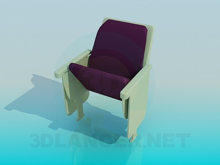 3d model Folding armchair - preview