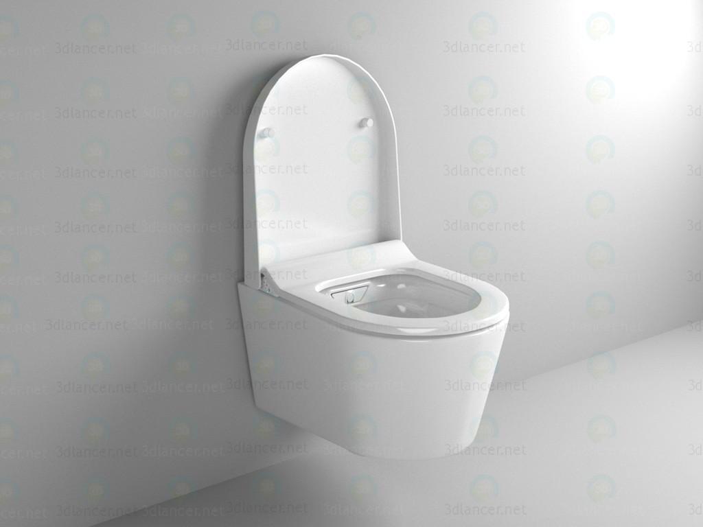 3d model Suspended toilet-bidet - preview