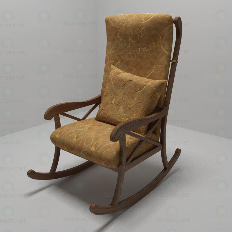 Кресло-качалка 3d модель купить - рендер