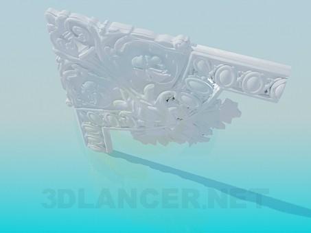 3d модель Угловые элементы – превью