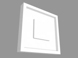 कॉर्नर मोल्डिंग पी 5020 बी (9 x 9 x 1.3 सेमी)