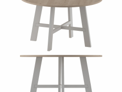 Round dining table By Pointhouse
