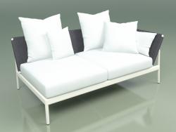 Módulo de sofá izquierda 005 (Metal Milk, Batyline Grey)