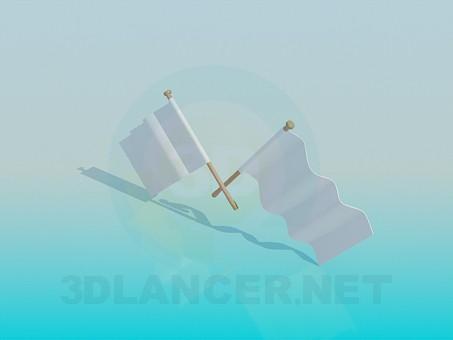 descarga gratuita de 3D modelado modelo Banderas