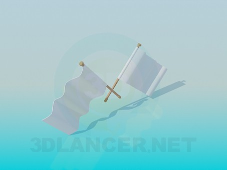 3d model Flags - preview