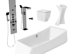 bathroom equipment
