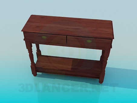 3d modeling Table-pedestal model free download