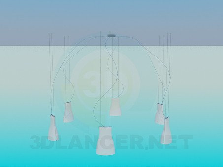 3d model Chandelier - preview