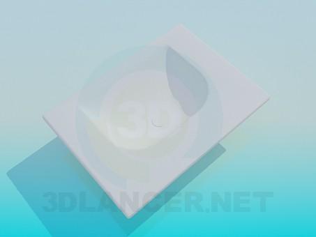 3d моделювання Раковина модель завантажити безкоштовно