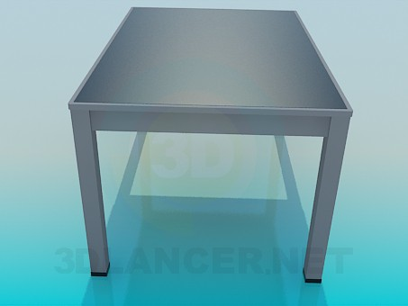 3d model Office table - preview