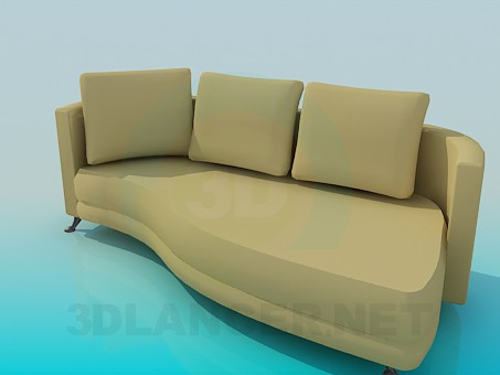 3d model Sofa-couch - preview