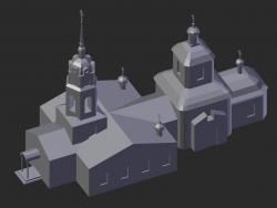 Altufevo. Heilig-Kreuz-Kirche