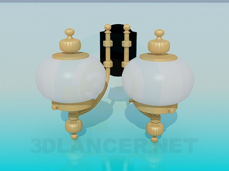 3d model Bra with two plafonds - preview