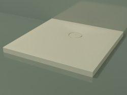 Shower tray (30UB0127, Bone C39, 80 X 80 cm)