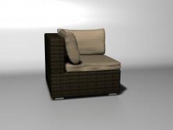 Angolo divano unità sahara